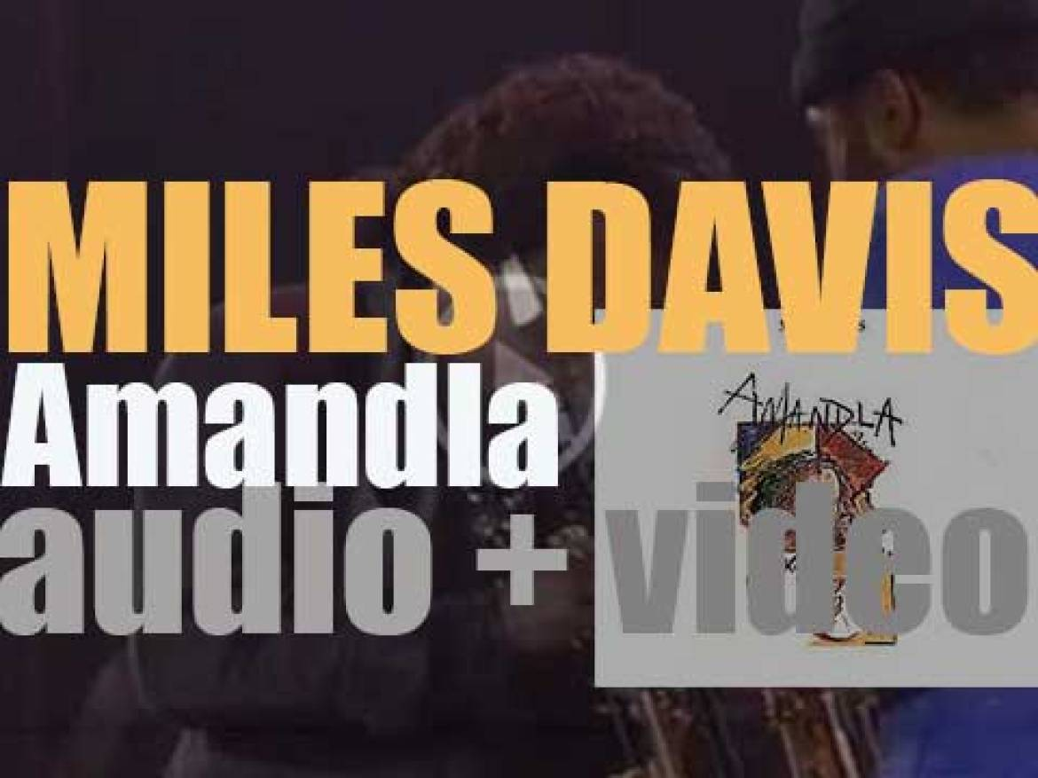 Warner Bros. publish Miles Davis' 'Amandla,' his third (and final) collaboration with Marcus Miller (1989)