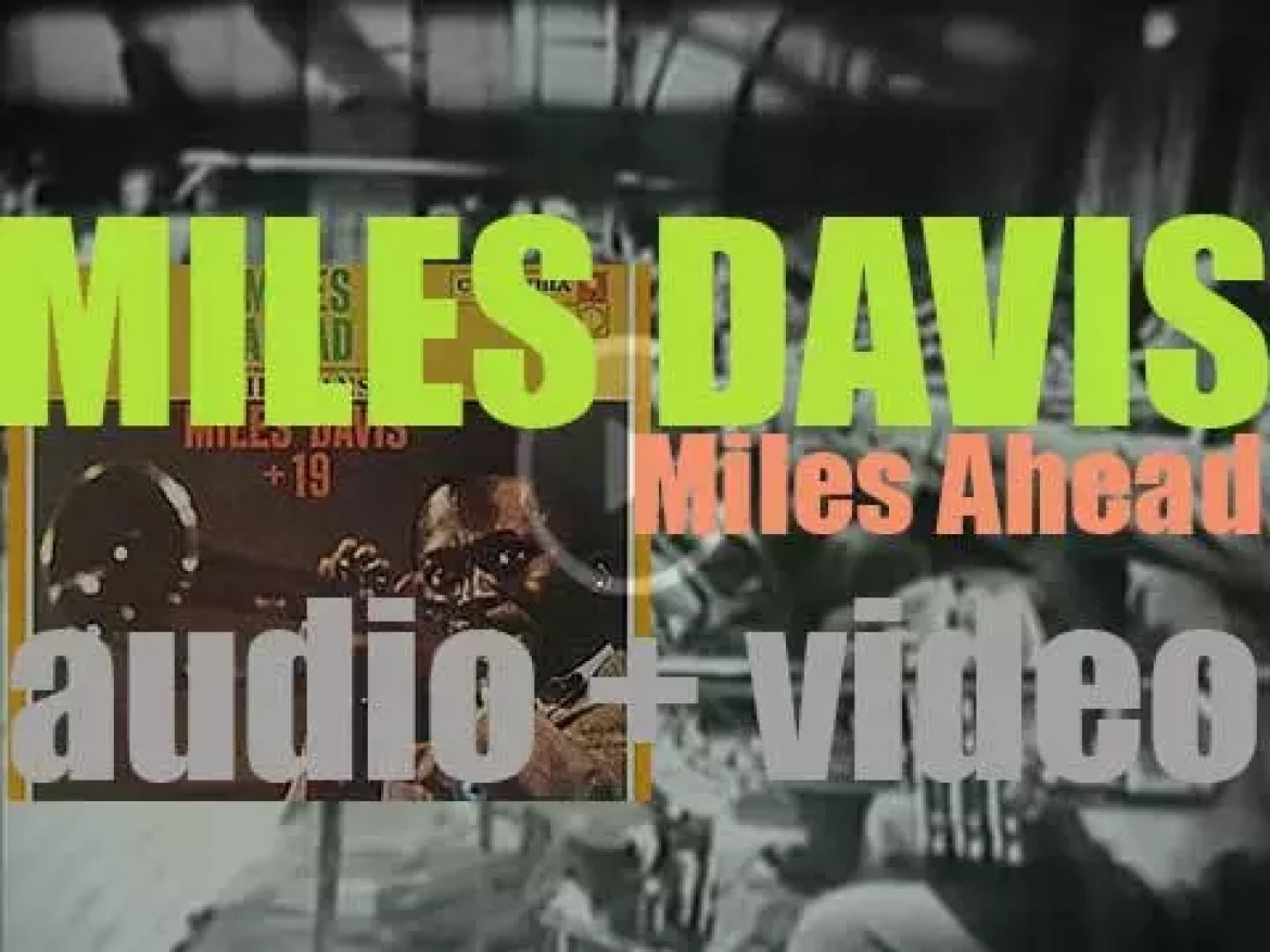 Miles Davis starts the recording of 'Miles Ahead' with Gil Evans (1957)