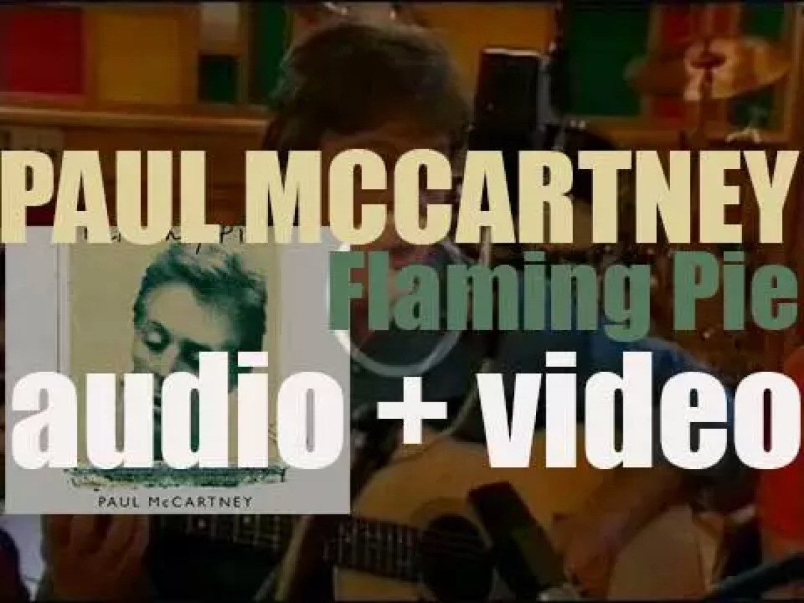 Parlophone publish Paul McCartney 's 'Flaming Pie,' his tenth solo album (1997)