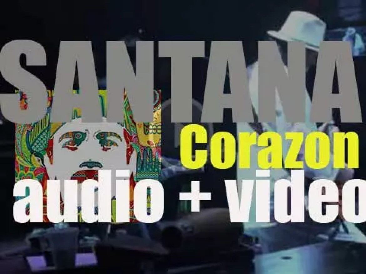 Santana releases their twenty-second album : 'Corazón' recorded with Gloria Estefan, Juanes, Miguel and others (2014)