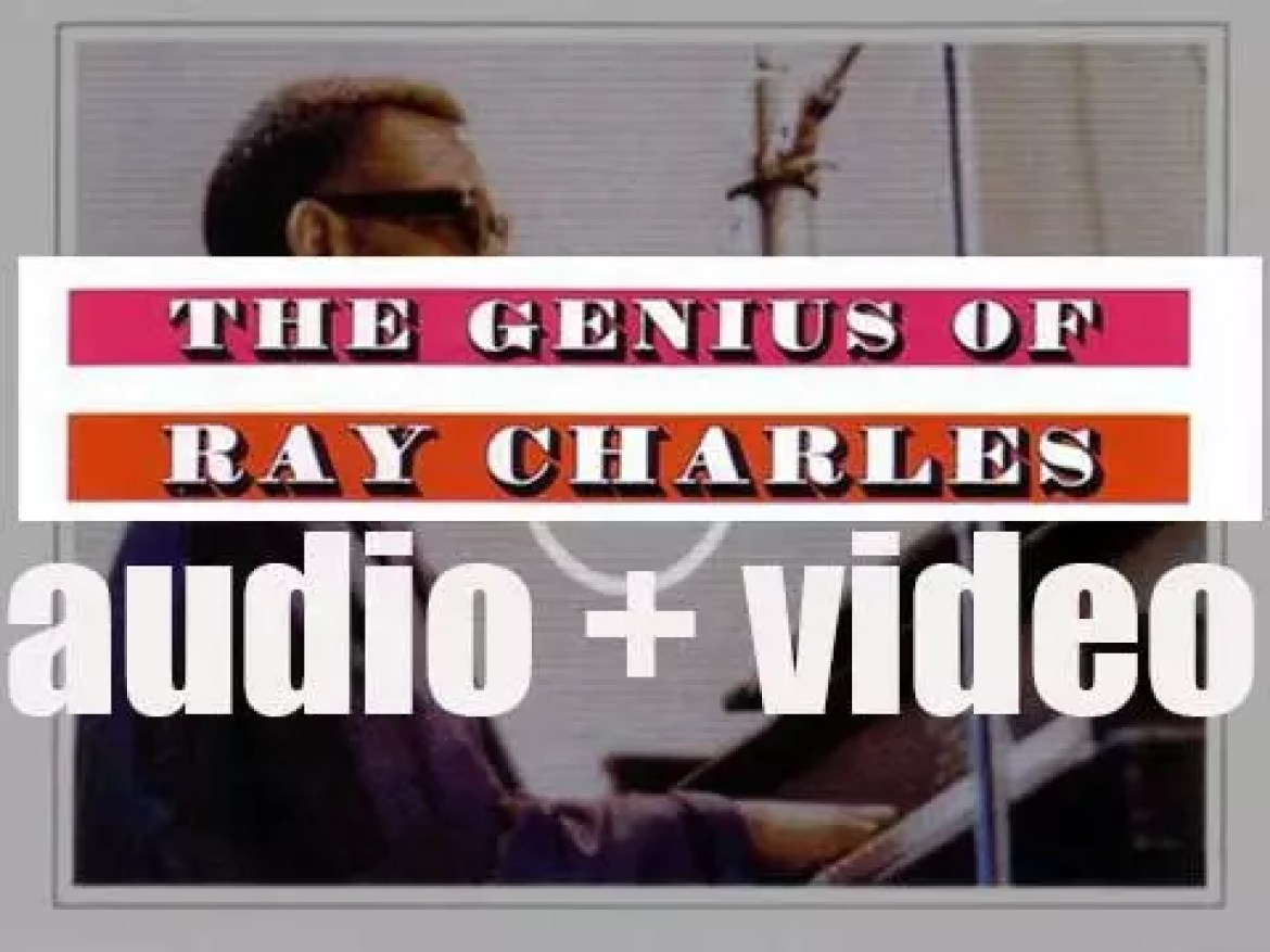 Ray Charles records in New-York 'The Genius of Ray Charles' (1959)