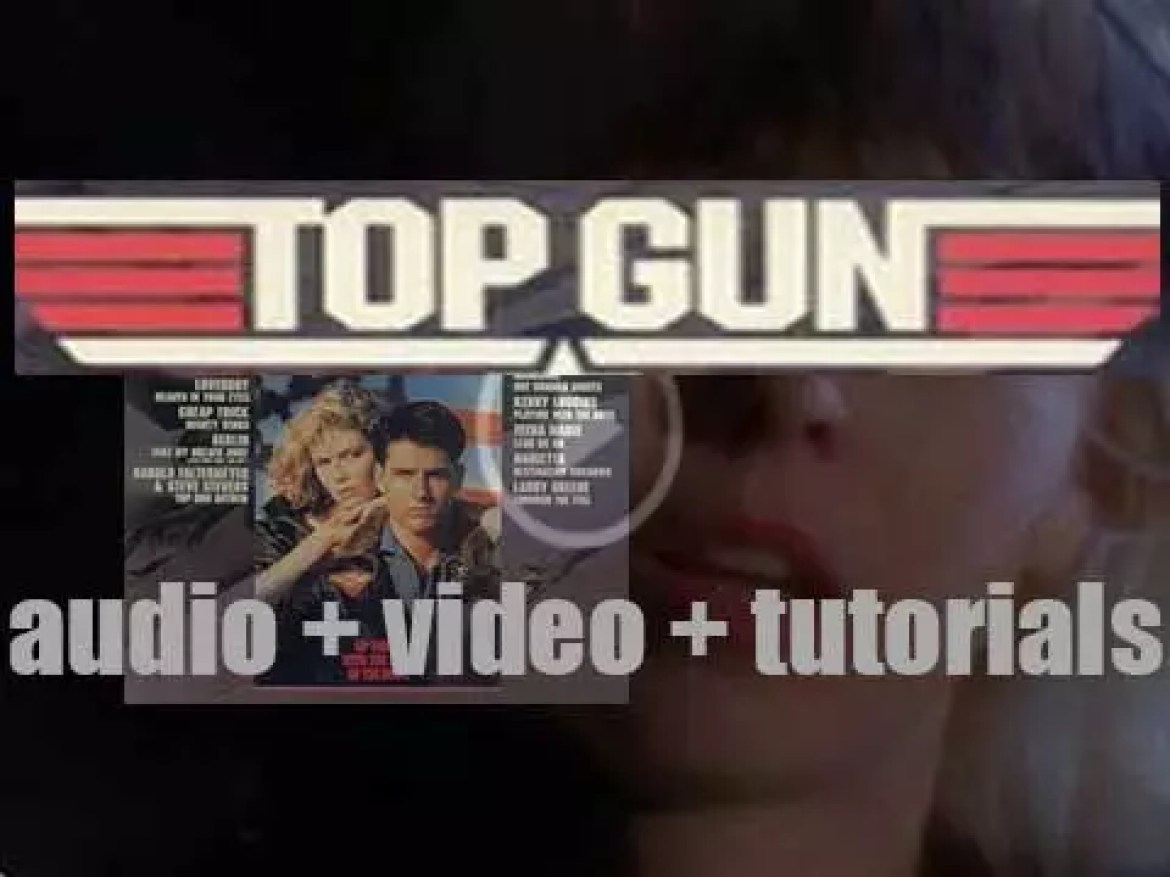 Columbia release the soundtrack of 'Top Gun' featuring 'Take My Breath Away' (1986)