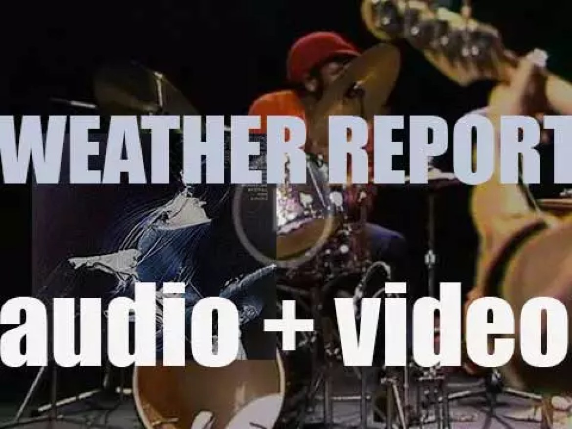 Columbia Records publish 'Weather Report,' their eponymous debut album  (1971)