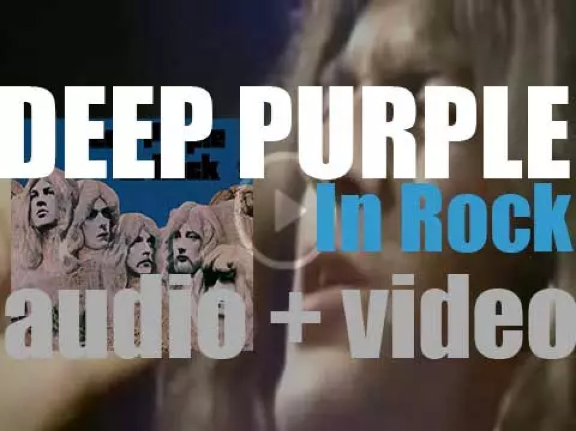 Deep Purple release 'in Rock,' their fourth album featuring Ian Gillan on vocals (1970)