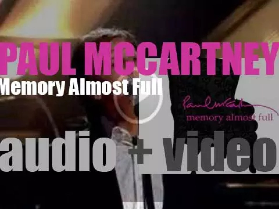 Paul McCartney releases his fourteenth solo album : 'Memory Almost Full' (2007)