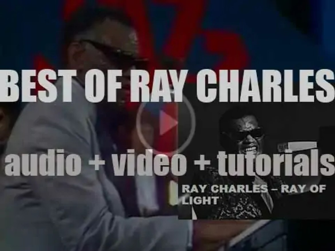 We remember Ray Charles. 'Ray Of Light'