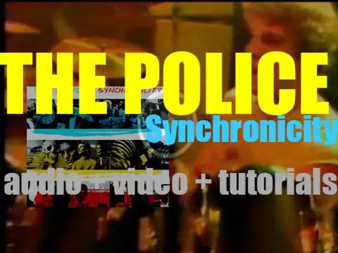 The Police release 'Synchronicity,' their fifth and final album featuring 'Every Breath You Take' (1983)