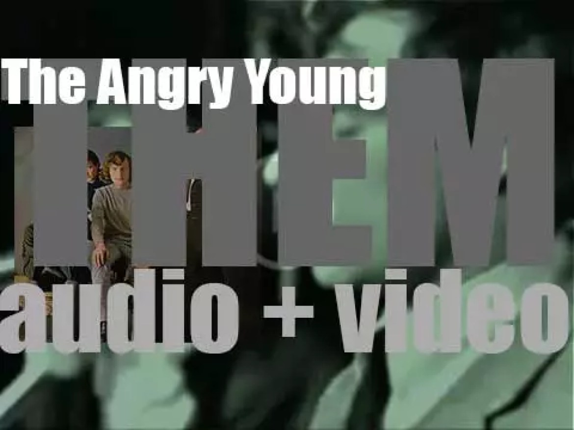 Decca publish Them's first album : 'The Angry Young Them' featuring 'Gloria' (1965)