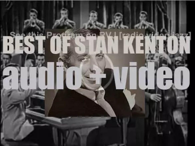 We remember Stan Kenton. 'Life In Artistry'