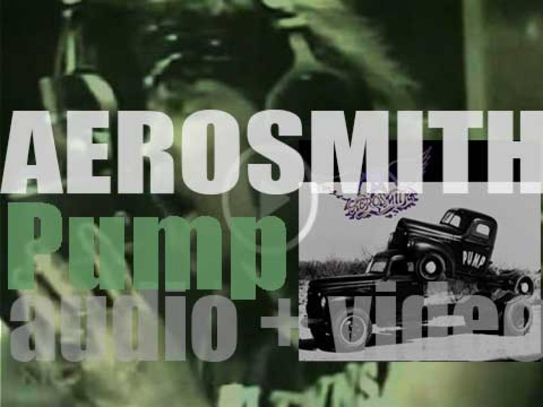 Aerosmith release 'Pump,' their tenth studio album featuring 'Love in an Elevator,' 'Janie's Got a Gun' and 'What It Takes' (1989)