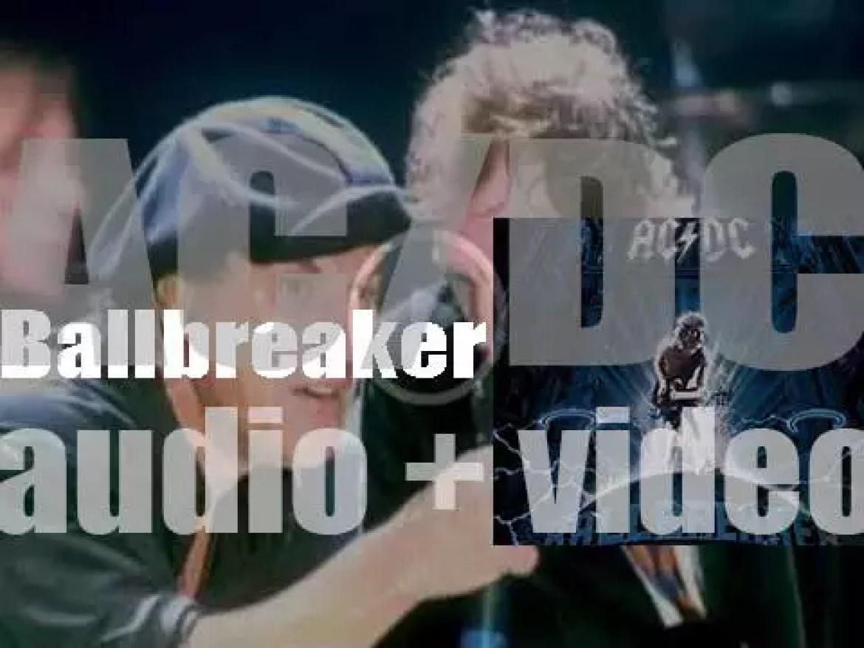 AC/DC release their thirteenth album : 'Ballbreaker' featuring 'Hard as a Rock' (1995)