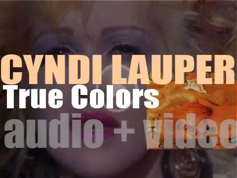 Portrait publish Cyndi Lauper's second album : 'True Colors' featuring 'Change of Heart' (1986)