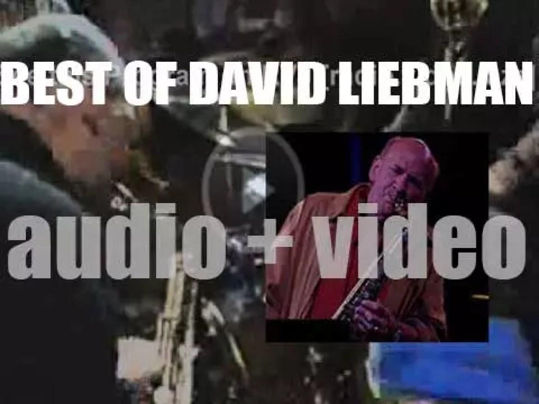 Happy Birthday Dave Liebman. 'Boss Of The Soprano'