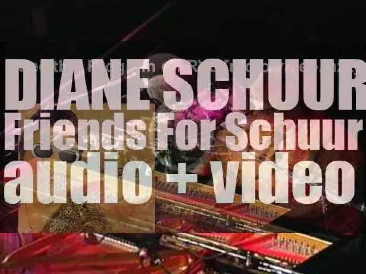 Concord Records publish Diane Schuur's 'Friends for Schuur,' an album featuring among others Ray Charles and Stevie Wonder (2000)