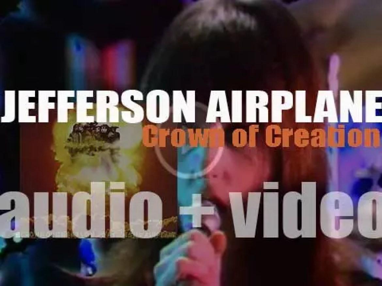 Jefferson Airplane release their fourth album : 'Crown of Creation' (1968)