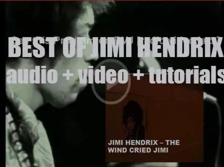 We remember Jimi Hendrix. 'The Wind Cried Jimi'