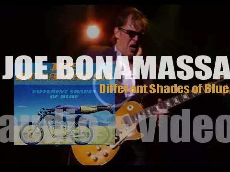 Joe Bonamassa releases his eleventh album : 'Different Shades of Blue' (2014)