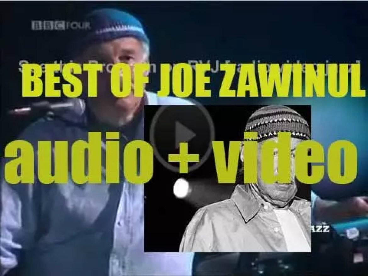 We remember Joe Zawinul. 'Syndicative'