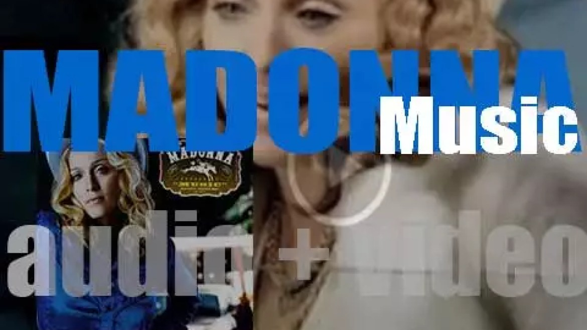 Madonna releases  her eighth album : 'Music' featuring the title track and 'Don't Tell Me' (2000)