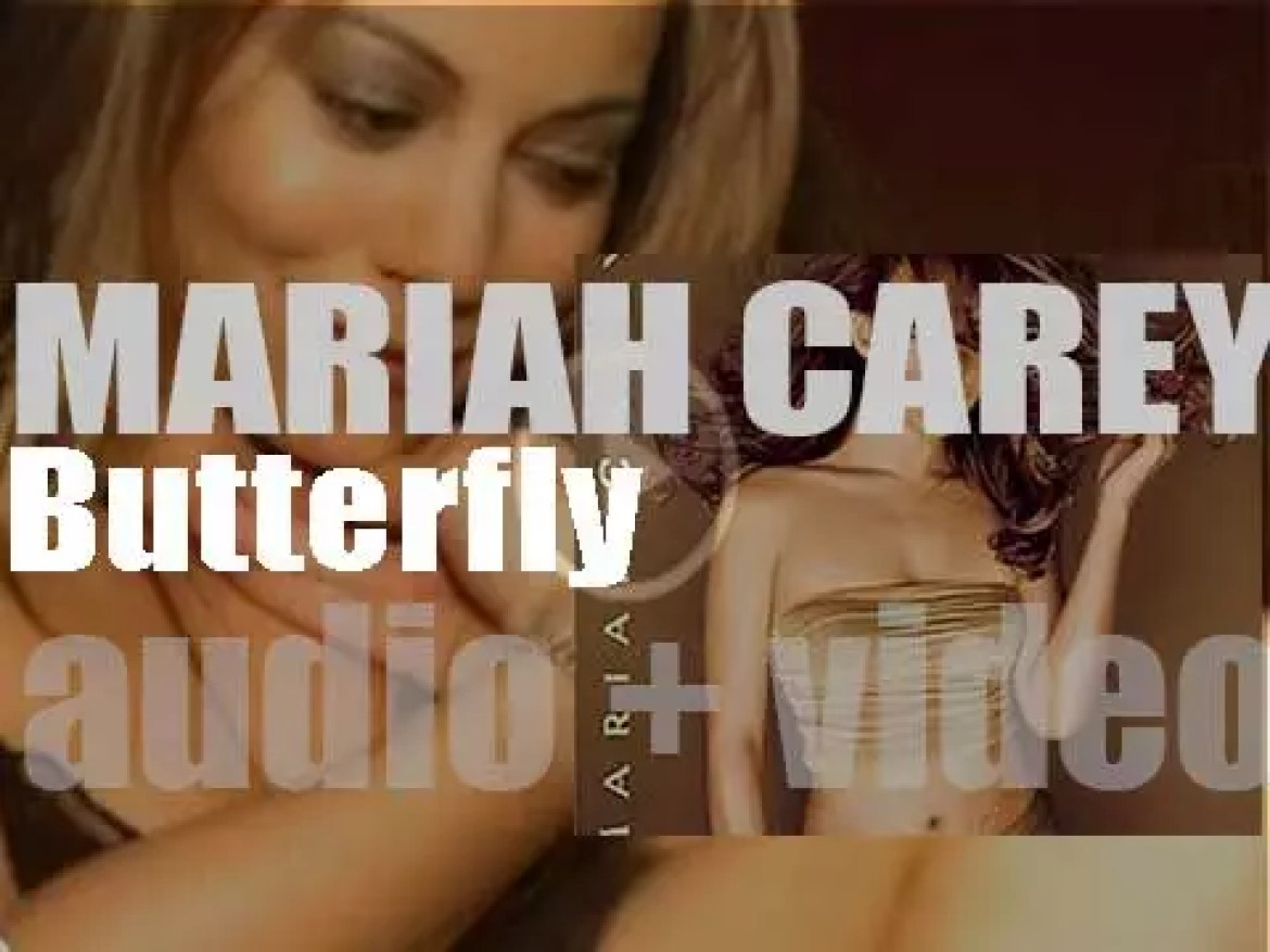 Mariah Carey releases her sixth album : 'Butterfly' featuring 'Honey' and 'My All' (1997)