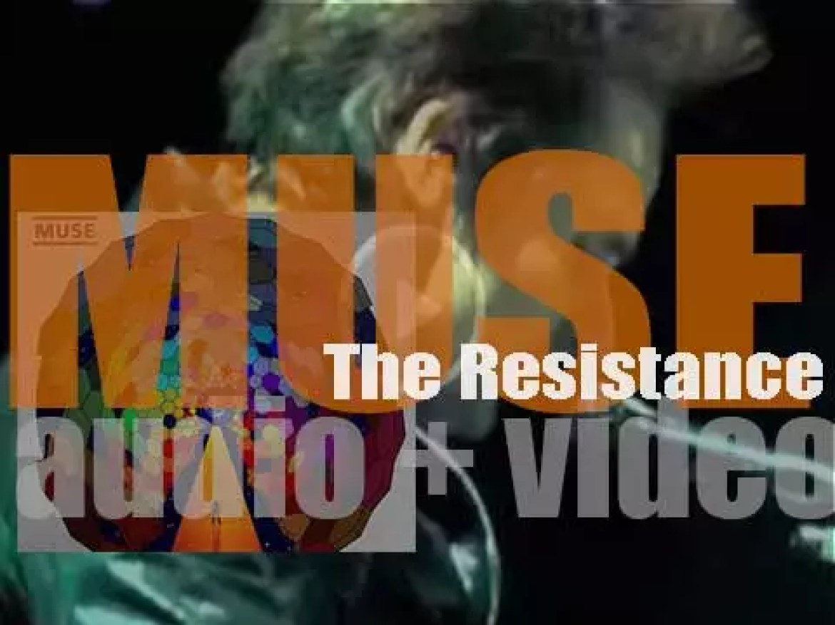 Muse release their fifth album : 'The Resistance' featuring 'Uprising' (2009)