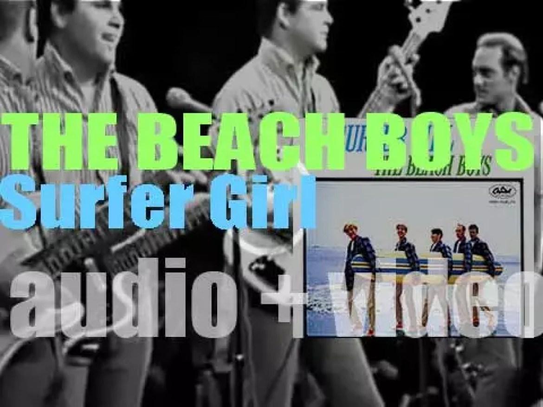 Capitol publish The Beach Boys' third album : 'Surfer Girl' featuring 'Little Deuce Coupe' (1963)