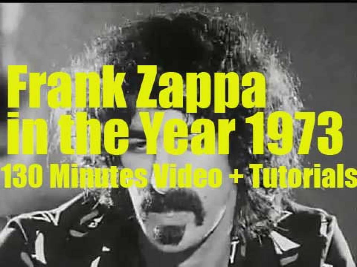 Frank Zappa in the Year 1973