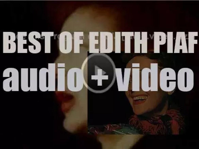 We remember Édith Piaf. 'Elle-Môme'