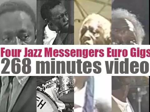 Four Jazz Messengers Euro Gigs