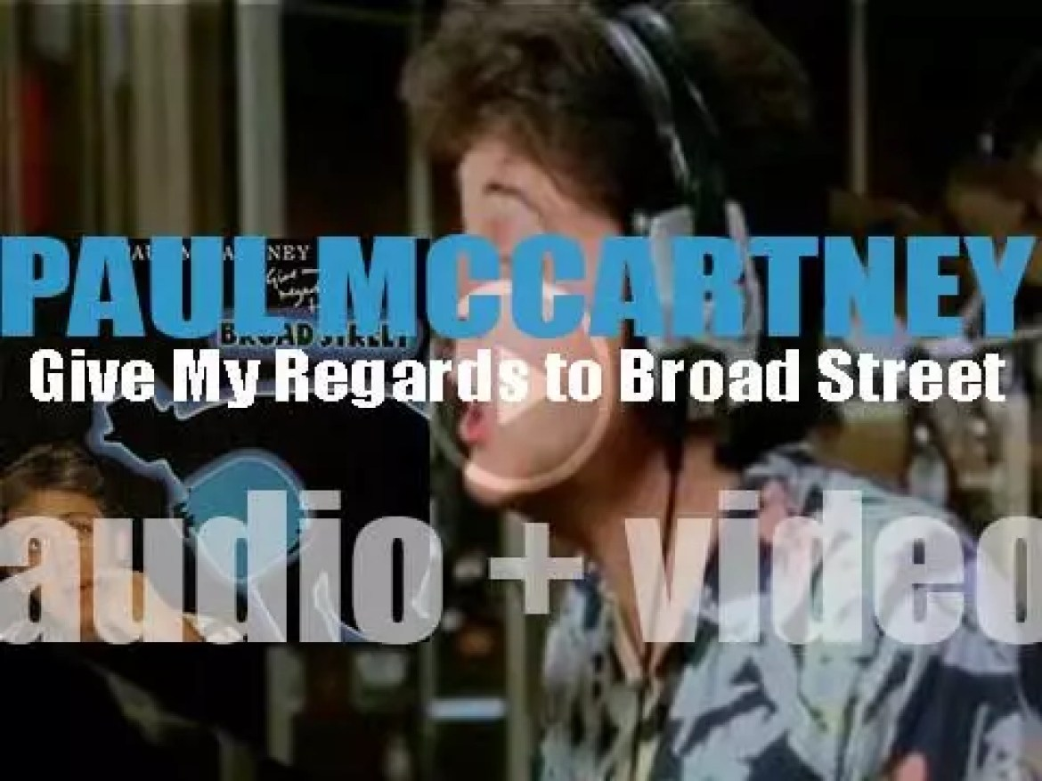 Paul McCartney releases his fifth album : 'Give My Regards to Broad Street' featuring 'No More Lonely Nights' (1984)
