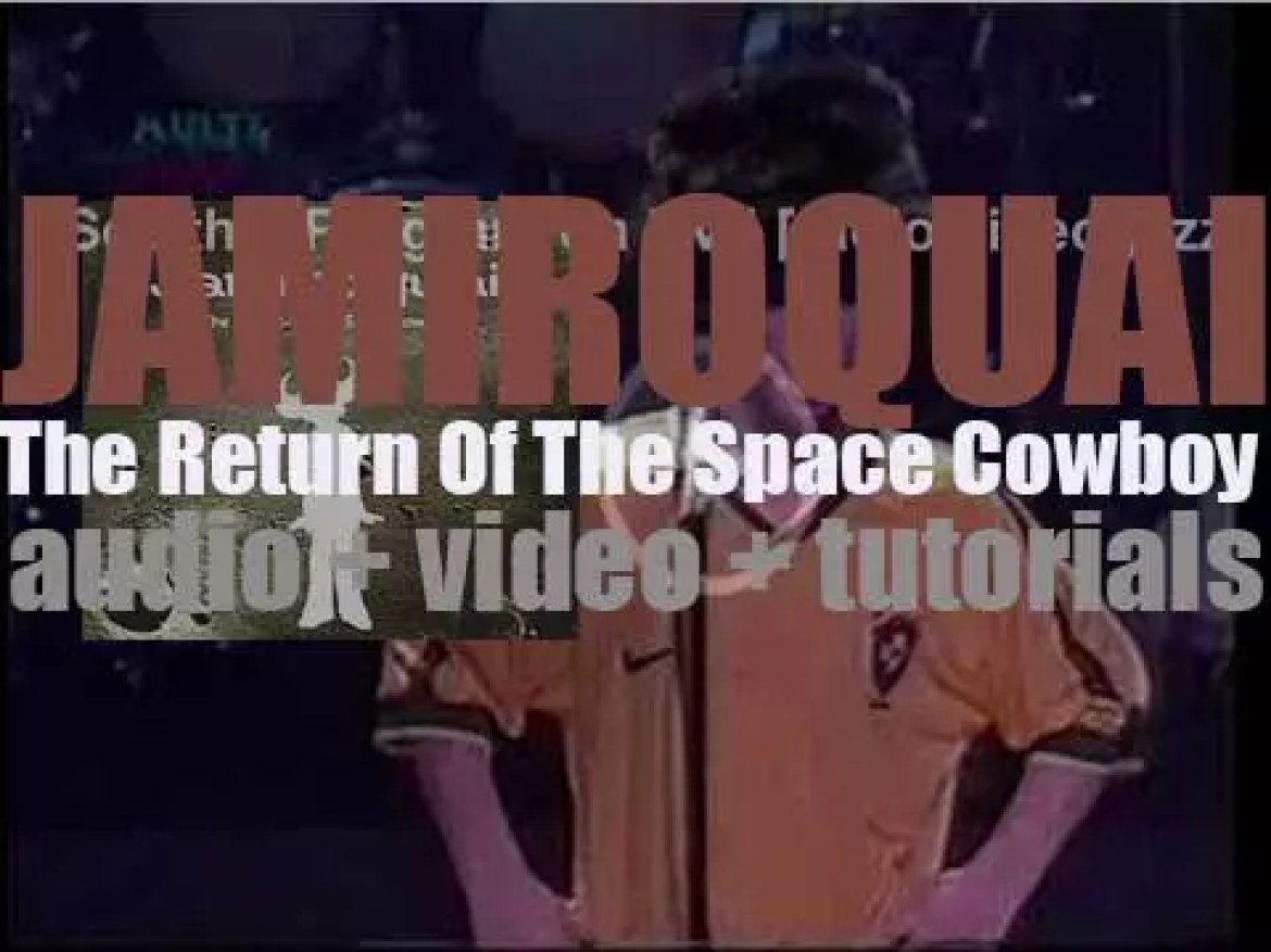 Jamiroquai release 'The Return Of The Space Cowboy,' their second album featuring 'Stillness in Time' (1994)