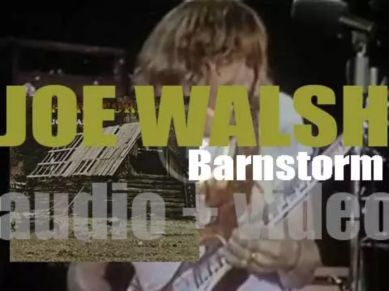 ABC-Dunhill publish Joe Walsh's  debut solo album : 'Barnstorm' (1972)