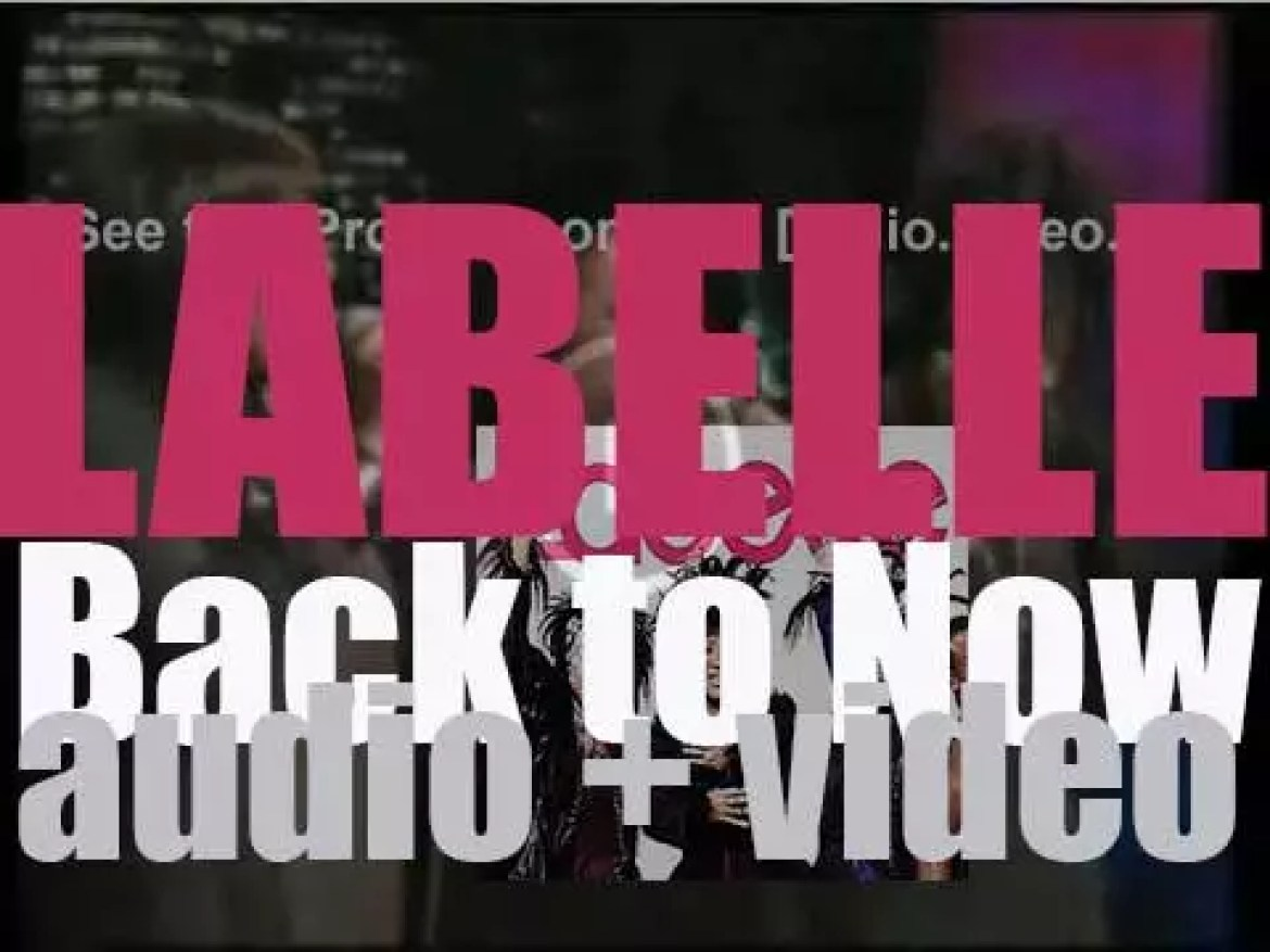 Labelle release their seventh album (and first in over thirty years) : 'Back to Now' (2008)