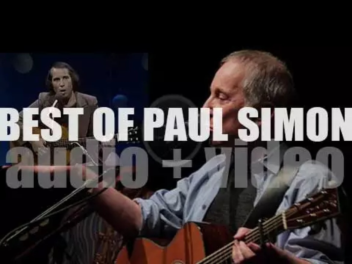 Happy Birthday Paul Simon. 'Simon Sings'