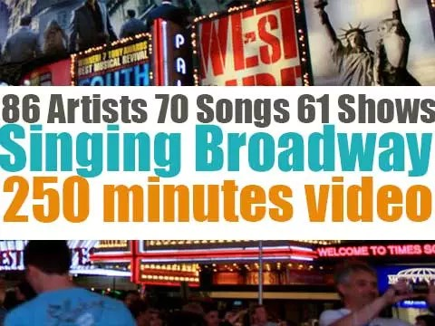 Singing Broadway