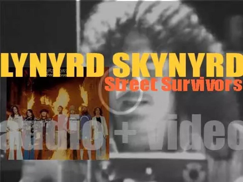 Lynyrd Skynyrd release their fifth studio album : 'Street Survivors' (1977)