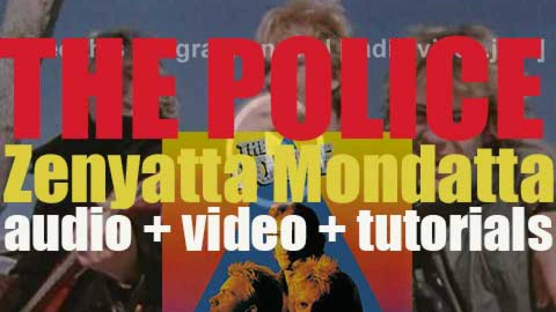The Police release their third album : 'Zenyatta Mondatta' featuring 'Don't Stand So Close to Me' and 'De Do Do Do, De Da Da Da' (1980)