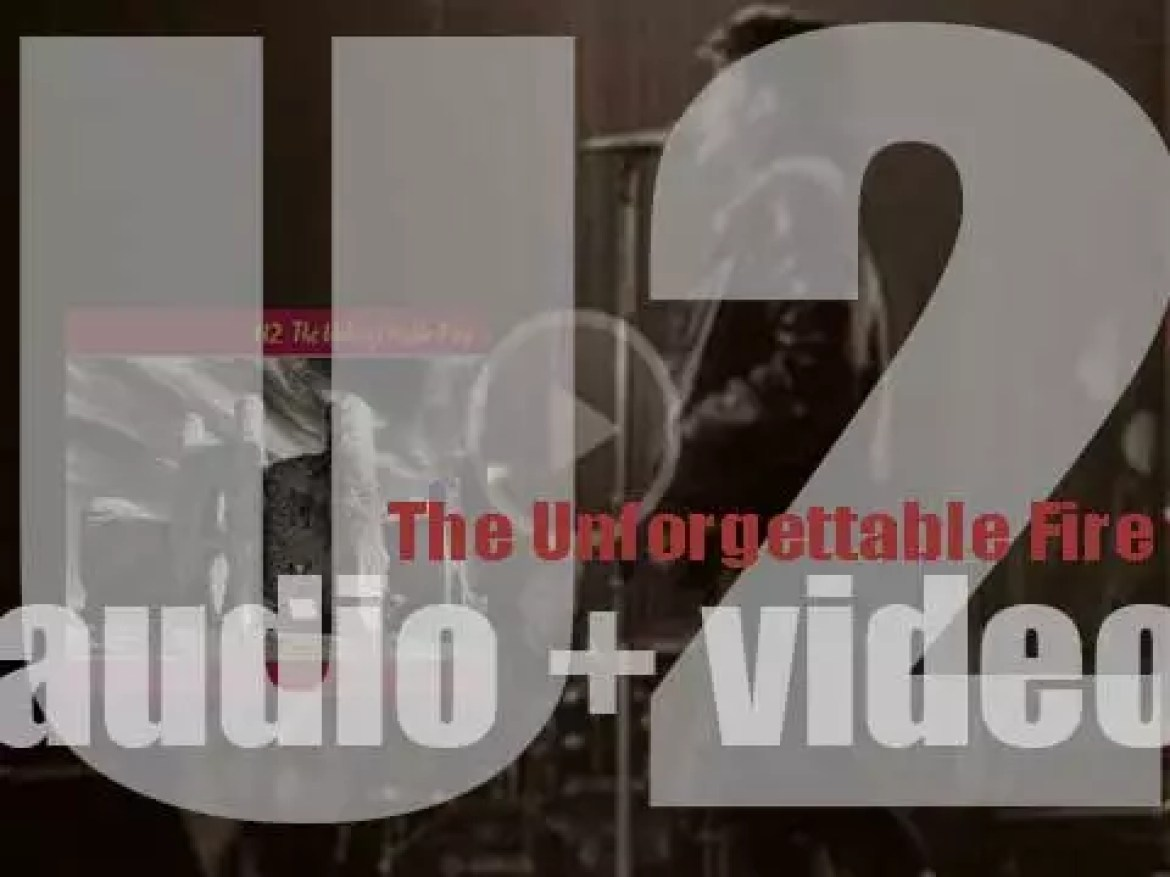U2 release 'The Unforgettable Fire,' their fourth album featuring 'Pride (In the Name of Love)' (1984)