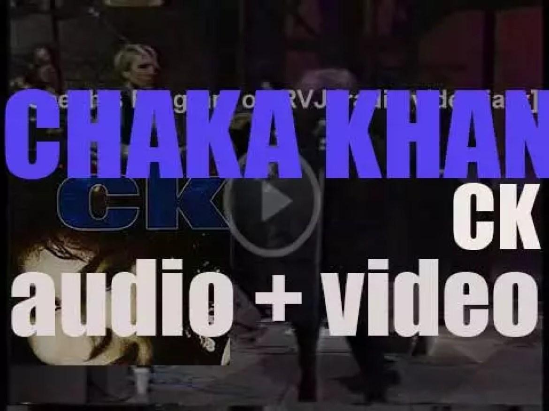 Warner Bros. publish Chaka Khan's seventh album : 'CK' (1988)