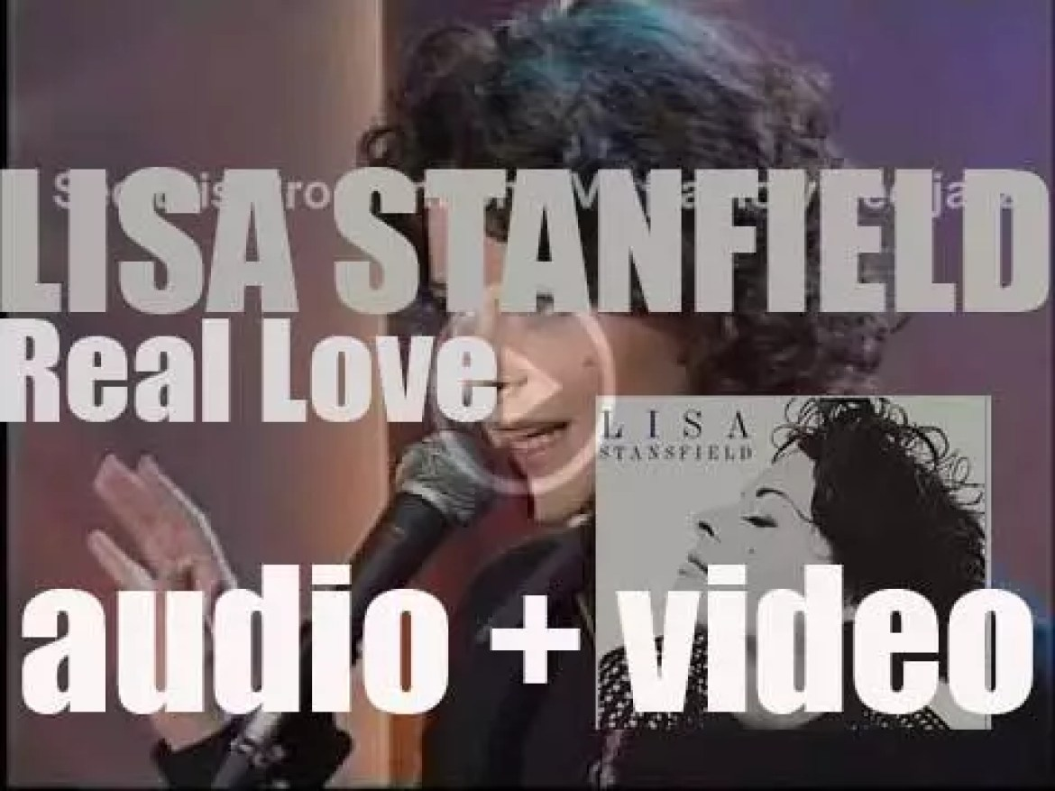 Arista publish Lisa Stansfield's second album : 'Real Love' featuring 'Change' and 'All Woman' (1991)