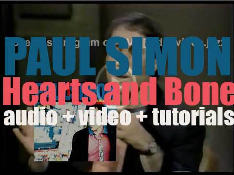 Warner Bros. publish Paul Simon's sixth solo album : 'Hearts and Bones' (1983)