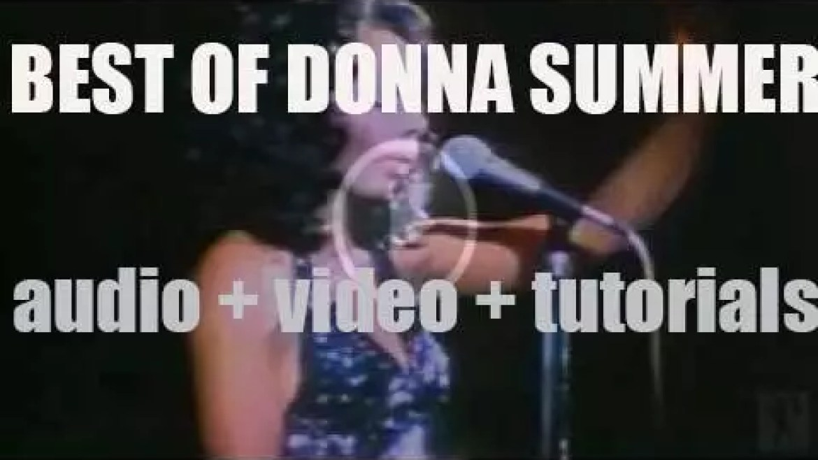 We Remember Donna Summer. 'Loved To Love You Donna'