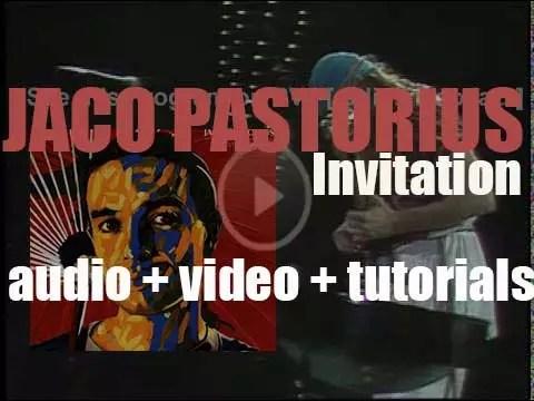 Jaco pastorius invitation rvj rvm radiodeosic jaco pastorius invitation rvj stopboris Image collections