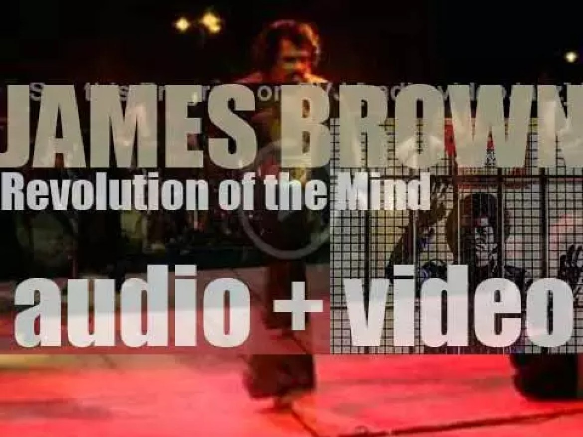 Polydor publish James Brown's 'Revolution of the Mind : Recorded Live at the Apollo, Vol. III' (1971)