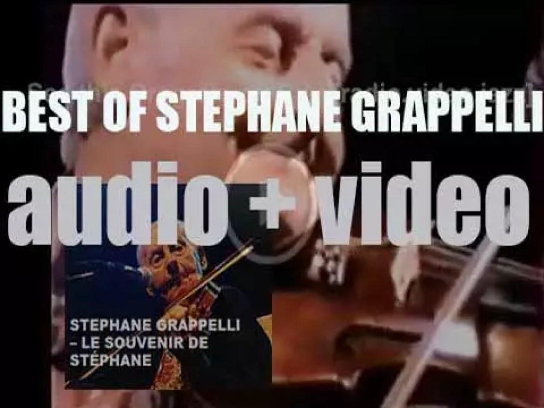 We remember Stephane Grappelli. 'Le Souvenir de Stéphane'