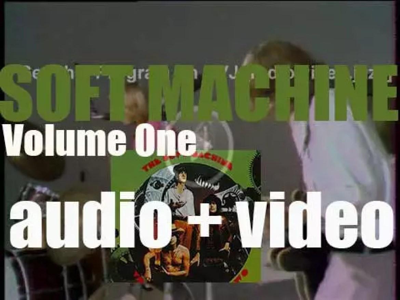 Soft Machine release their debut album : 'Volume One' (1968)
