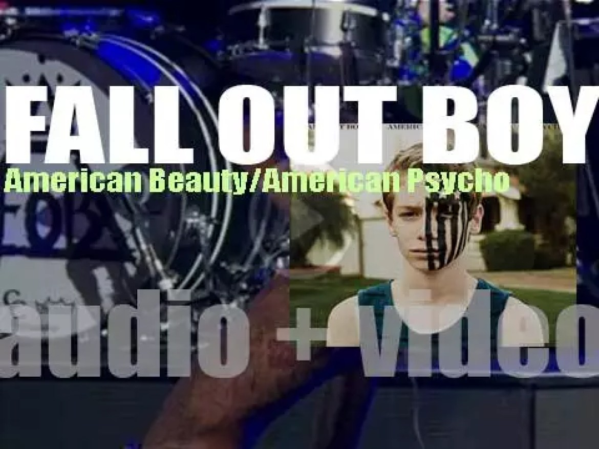 Fall Out Boy release their sixth album : 'American Beauty/American Psycho' featuring 'Centuries' (2015)