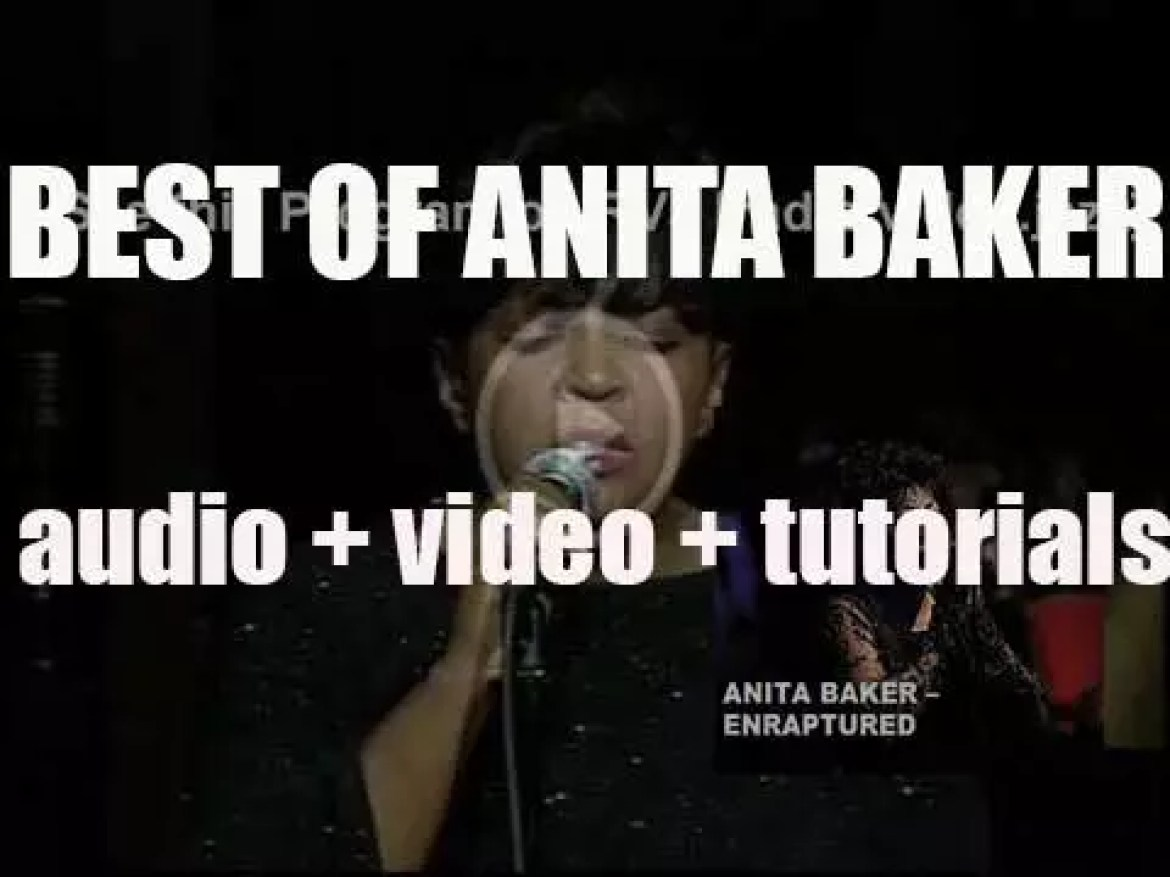 Happy Birthday Anita Baker. 'Enraptured'