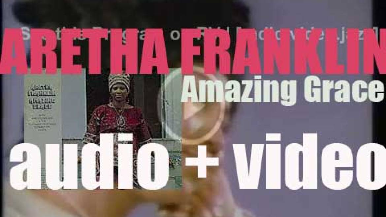 Aretha Franklin records 'Amazing Grace,' a live album for Atlantic (1972)
