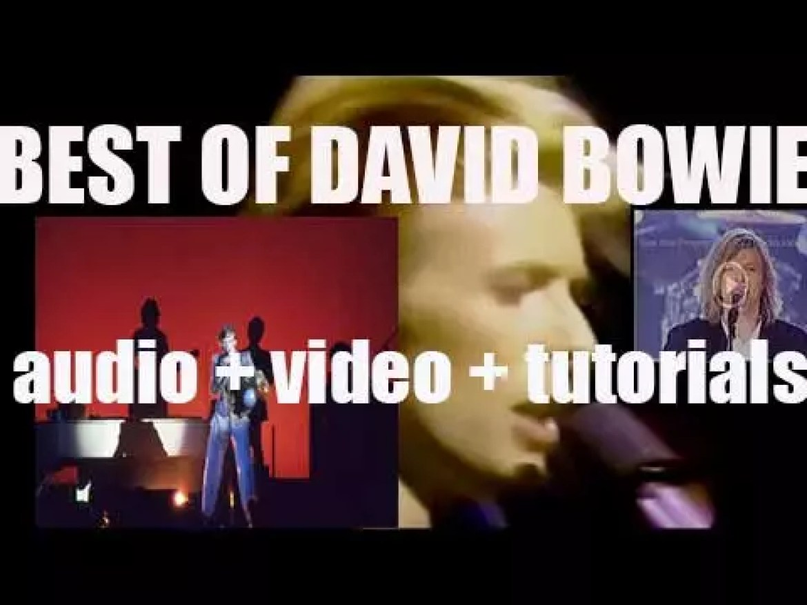 We remember David Bowie. 'Just For One Day'